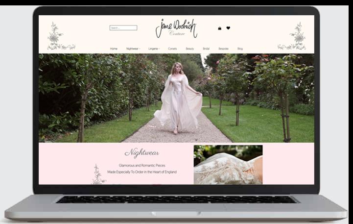 Jane Woolrich website by CADS Web Design in Swadlincote